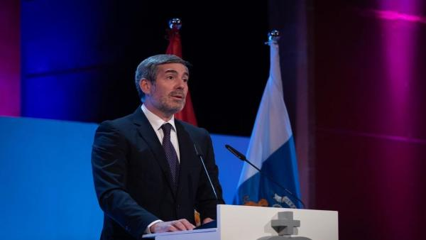 Presidente del Gobierno de Canarias, Fernando Clavijo.