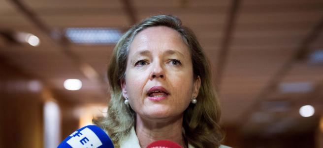 La ministra de Economía y Empresas, Nadia Calviño.