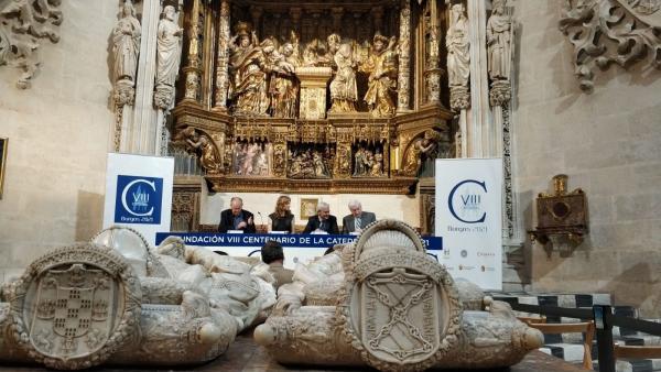 De izq a cha Pablo González, Mar Sancho, Ignacio García-Belenguer y Antonio Miguel Méndez Pozo.