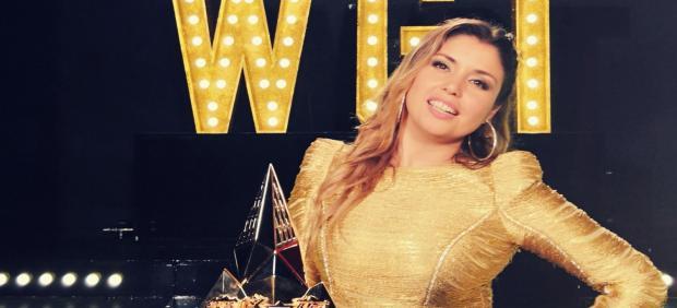 La cantante Cristina Ramos