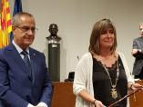 Núria Marín siendo investida como presidenta de la Diputació de Barcelona.