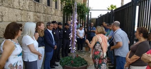 Minuto de silencio en recuerdo a la víctima de San Fernando