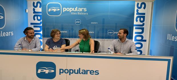 La portavoz del PP en Palma, Mercedes Celeste