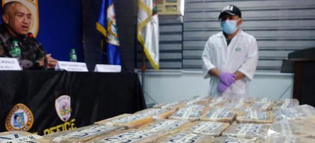 Interceptados numerosos paquetes de cocaína en Filipinas.