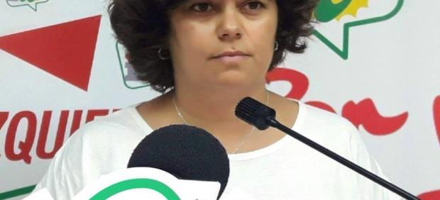 Carmen Álvarez, diputada de IU en Cádiz