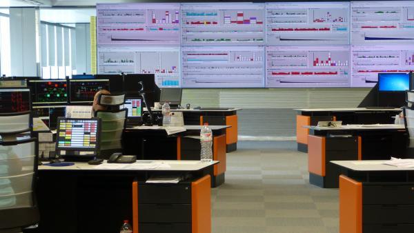 Centro de control de la demarcación de Girona