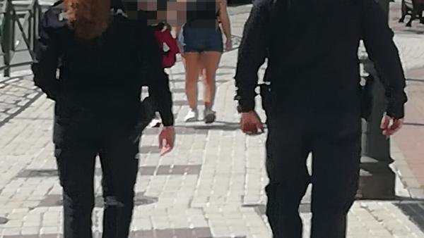 Agentes de la policía nacional CNP marbella policías seguridad ciudadana