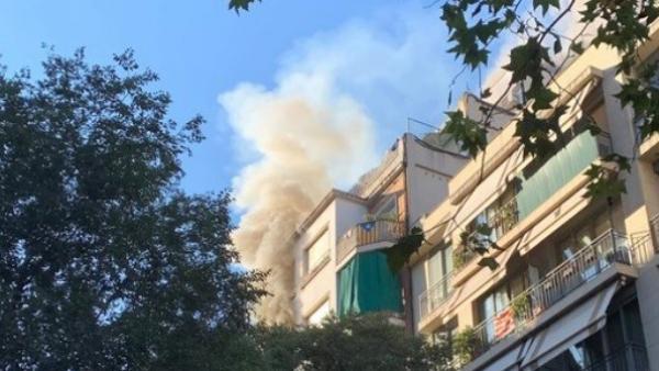 Imagen del edificio de la calle Entenza de Barcelona.
