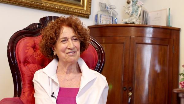 Carmen Iglesias, en su despacho de la Real Academia de la Historia.