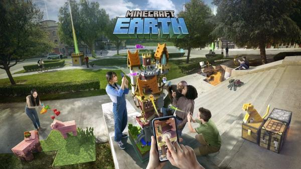 'Minecraft Earth'