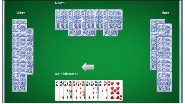 Internet Hearts, uno de los juegos online de Microsoft Internet Games