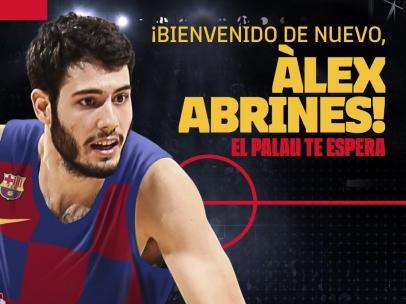 Alex Abrines vuelve al Barcelona