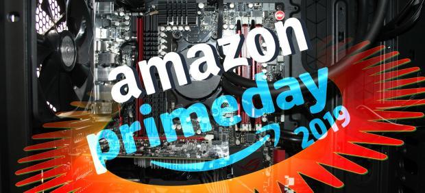 Montaje Amazon Prime Day, ordenador, CPU.