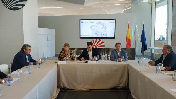 El conselleiro de Cultura e Turismo, Román Rodriguez.