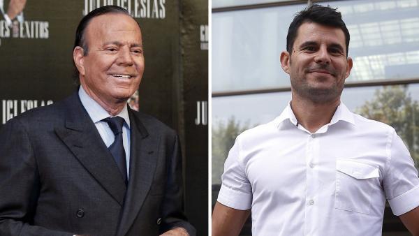 Julio Iglesias y Javier Santos