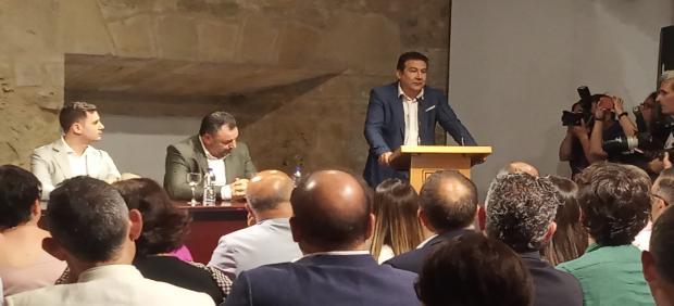 El secretario general de UPL y miembro de las Cortes de Castilla y León, Luis Mariano Santos.