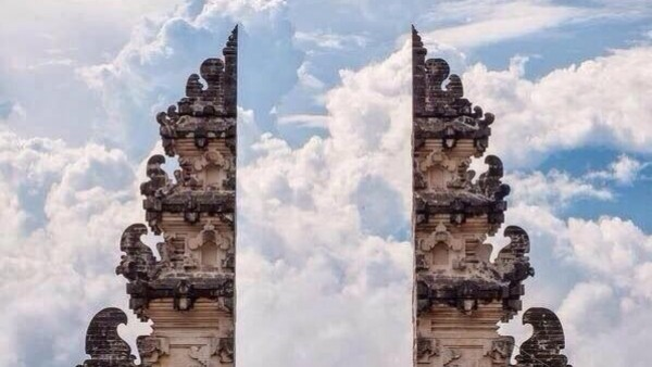 La puerta de Lempuyang. Bali, Indonesia.