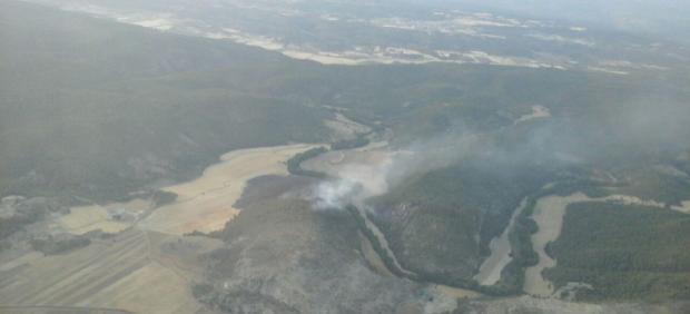 Incendio en Paracuellos (Cuenca)