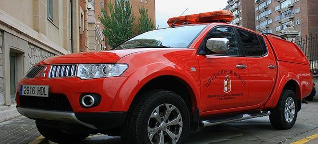 Unidad de bomberos.