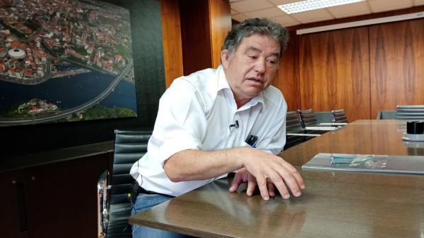El alcalde de Pontevedra, Miguel Anxo Fernández Lores, en una entrevista en Europa Press