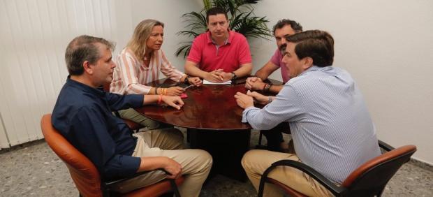 Reunión de Ayuntamiento de Córdoba y Hostecor.