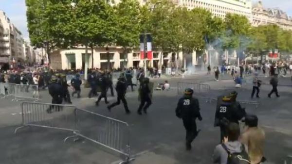 La Fiesta Nacional De Francia Acaba Con Enfrentamientos Entre