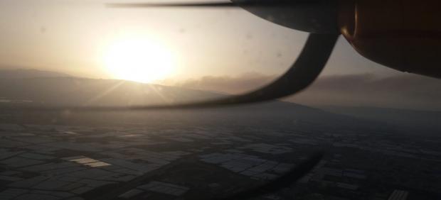 Medios aéreos que han participado en la extinción del incendio de Terque (Almería)