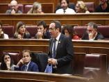 El preso soberanista Josep Rull (JxCat) el día de la sesión constitutiva del Congreso.