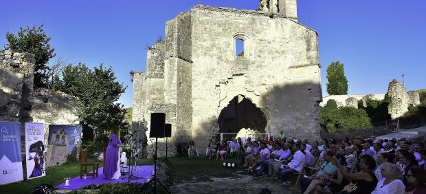 Imagen Del Concierto Del Domingo En El Monasterio De La Armedilla, En Cogeces Del Monte (Valladolid)