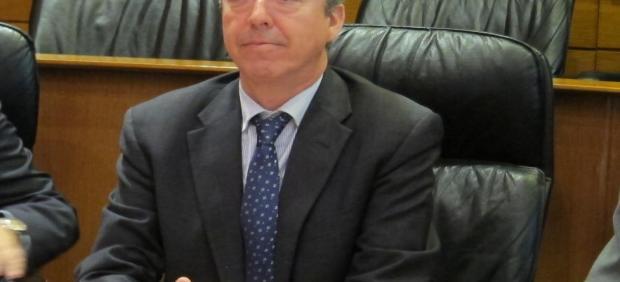 Alfonso Peña, presidente de la Cámara de Cuentas de Aragón.