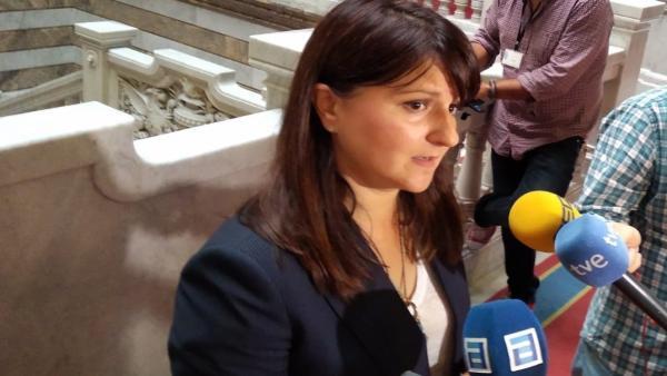 Laura Pérez Macho, portavoz de Ciudadanos en la Junta General del Principado