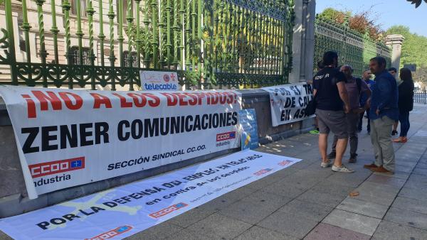 Protestas de los trabajadores de Zener.