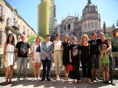 Presentación del festival Voix Vives en Toledo.