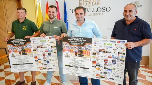 Presentación del II Concurso Nacional de Arrastre de Piedra con Mula 'Ciudad de Tomelloso'.