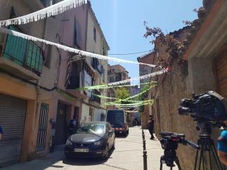 Mossos regresan al lugar de la presunta violación múltiple en Manresa (Barcelona)