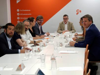 Reunión de la Ejecutiva de Ciudadanos.