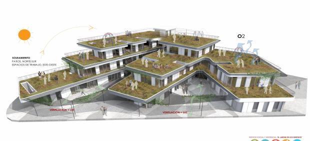 Proyecto del edificio del Tercer Sector de Almeríaa