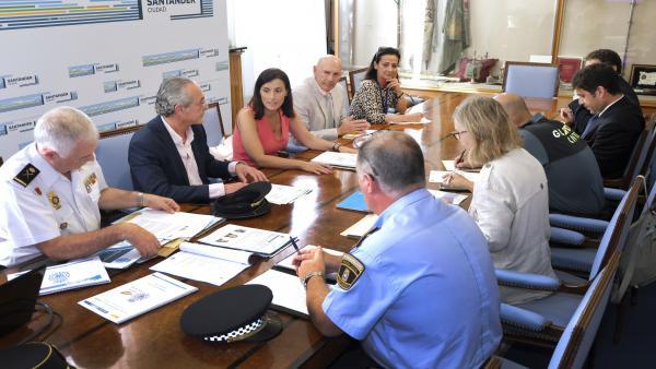 Junta Local de Seguridad en Santander