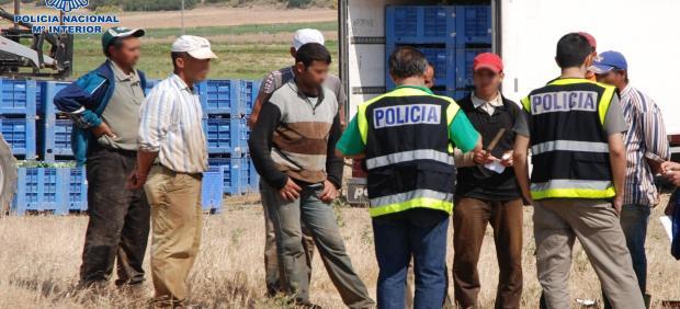 Detenidos en control de situación de extranjeros en Albacete.