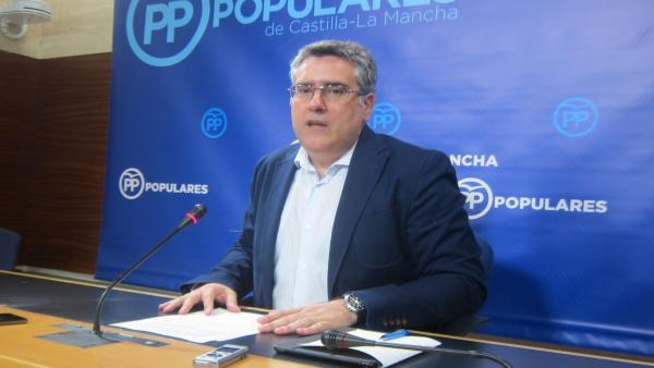 El diputado regional del PP Miguel Ángel Rodríguez