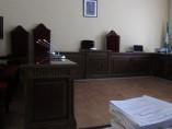 Imagen de archivo de una sala de vistas de un juzgado