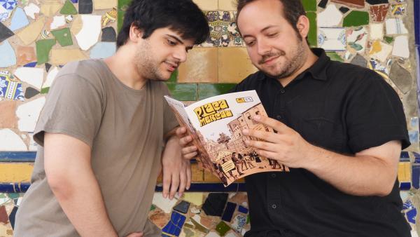 """Dos il·lustradors valencians """"ressusciten"""" la revista d'historietes amb la publicació 'Plaça del Mercat'"""