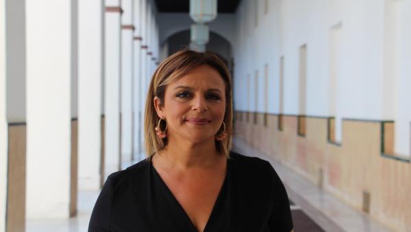 La parlamentaria de Adelante por Huelva María Gracia González.