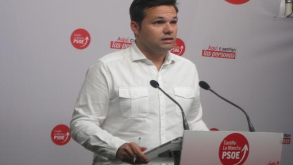 El secretario de Política Municipal del PSOE regional, Miguel Zamora
