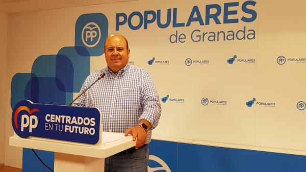 Portavoz del PP en la Diputación de Granada, José Robles