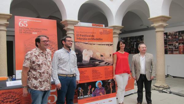 Presentación de la programación del Festival Internacional de Teatro Clásico  en Medellín