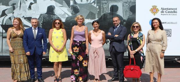Ruiz inaugura la exposición