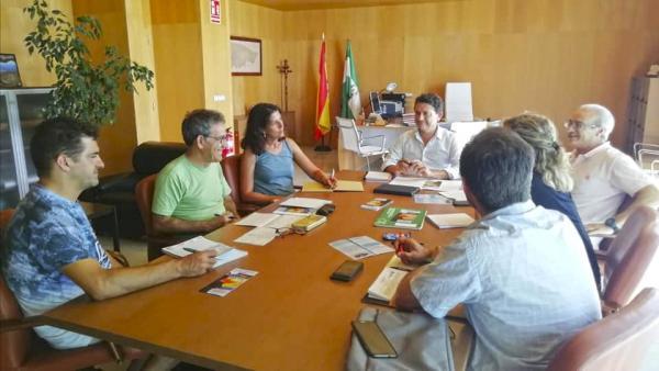 Daniel Sánchez reunido con asociaciones ecologistas