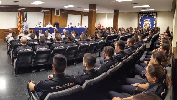 Presentación de la operación 'Verano seguro 2019' de la Policía Nacional.