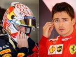 Verstappen y Leclerc
